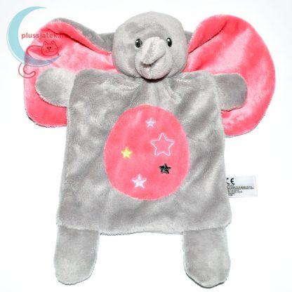 Nicotoy csillagos elefánt szundikendő - rózsaszín