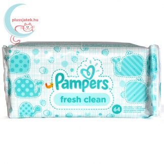 Pampers Fresh Clean baba törlőkendő (64 db)
