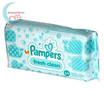 Pampers Fresh Clean baba törlőkendő (64 db) balról