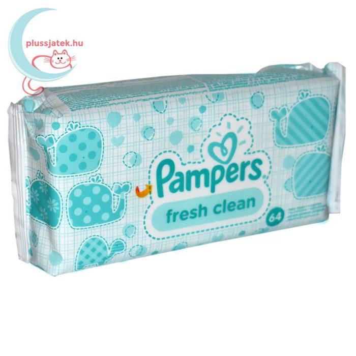Pampers Fresh Clean baba törlőkendő (64 db) jobbról