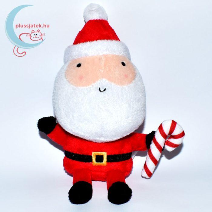 Plüss télapó karácsonyi kampó alakú nyalókával