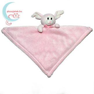 Snuggz rózsaszín nyuszi alvókendő csinos nyakkendővel