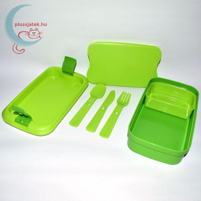 CURVER Lunch&Go ételtartó - zöld, belülről