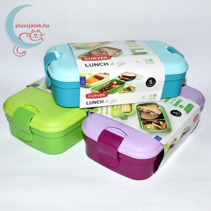CURVER Lunch&Go műanyag ételtartó többféle