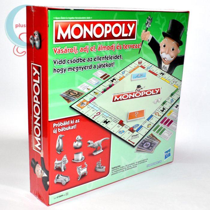 Klasszikus Monopoly (új kiadás) jobbról