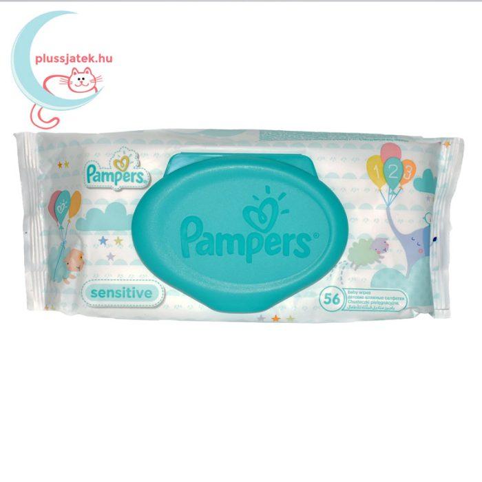 Pampers Sensitive baba törlőkendő - kupakos (56 db)
