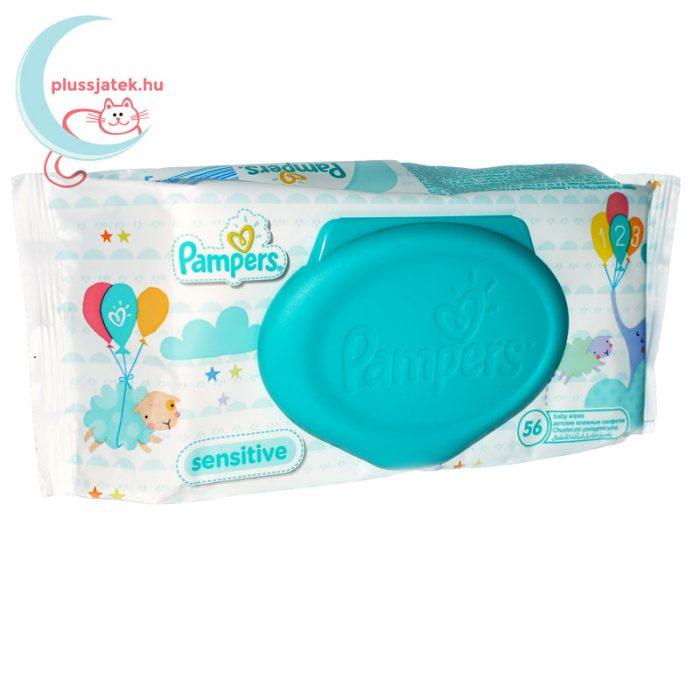 Pampers Sensitive baba törlőkendő - kupakos (56 db) jobbról