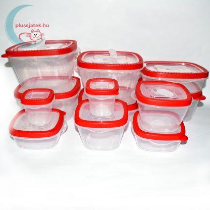 12 részes ételtároló doboz szett (Excellent Housware) kibontva