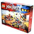 LEGO Ninjago Nindzsa motoros hajsza (70600) Masters of Spinjitzu balról