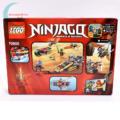 LEGO Ninjago Nindzsa motoros hajsza (70600) Masters of Spinjitzu hátulról