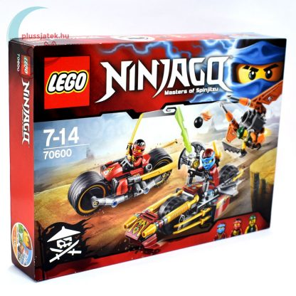 LEGO Ninjago Nindzsa motoros hajsza (70600) Masters of Spinjitzu jobbról