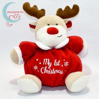 My 1st Christmas csörgős plüss rénszarvas