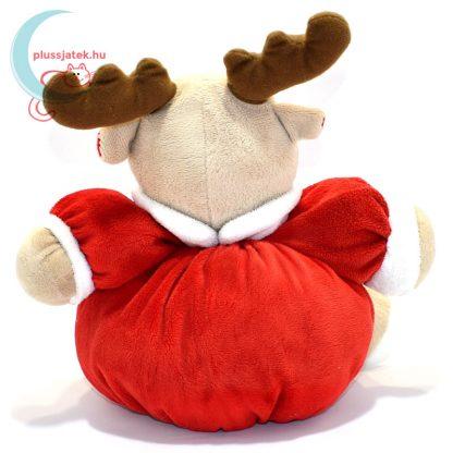 My 1st Christmas csörgős plüss rénszarvas hátulról