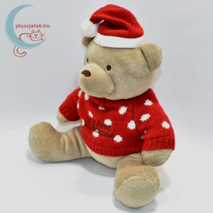 My first Christmas pulóveres plüss maci balról