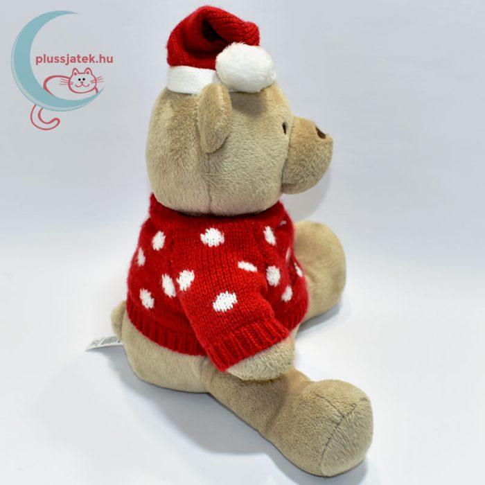 My first Christmas pulóveres plüss maci oldalról
