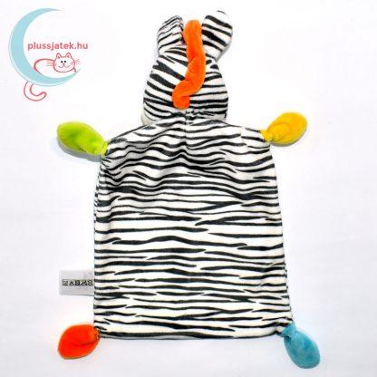 Nicotoy zebra alvókendő hátulról