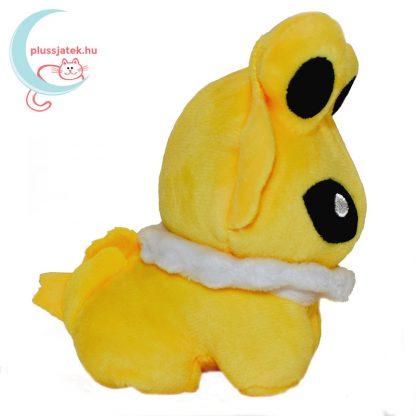 Jolteon pokémon plüssfigura oldalról