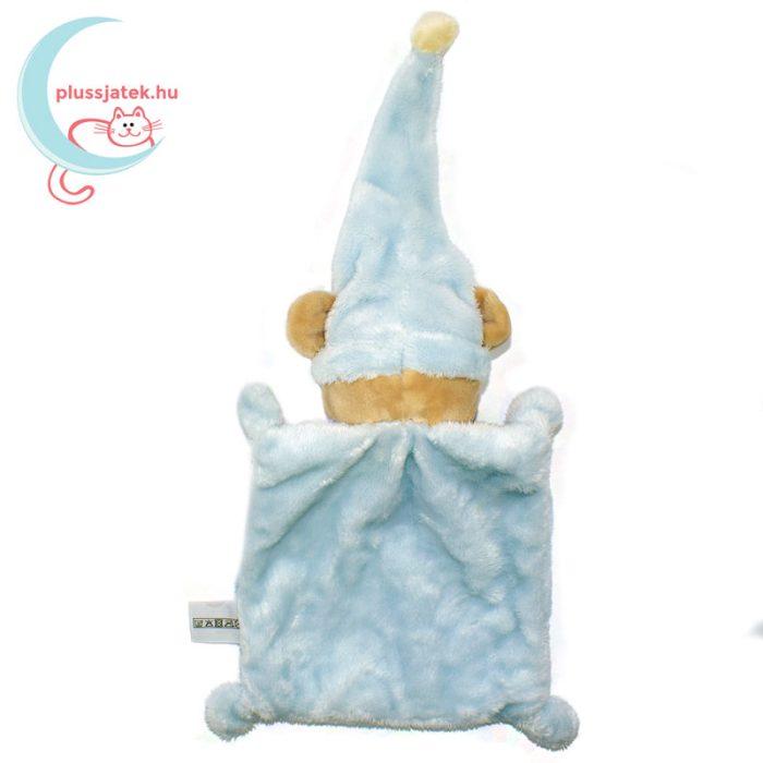 Nicotoy hálósapkás, ablakos maci szundikendő - kék, hátulról