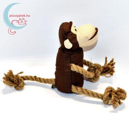 Trixie játék majom kutyáknak rágókötéllel oldalról