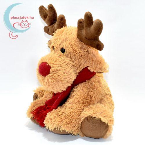 Vörös orrú, sálas plüss Rudolf szarvas balról
