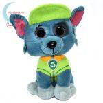TY Beanie Boos: Rocky plüss kutya - Mancs őrjárat