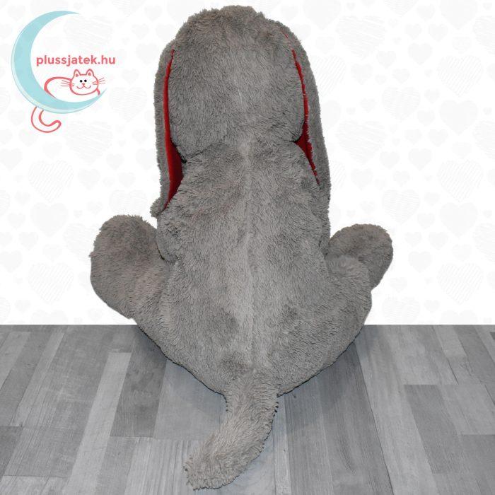 Hatalmas, 80 cm-es szerelmes plüss kutya hátulról
