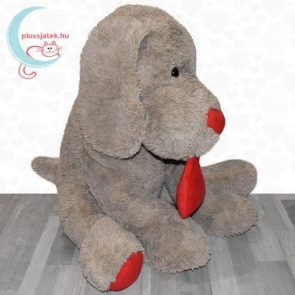 Hatalmas, 80 cm-es szerelmes plüss kutya jobbról