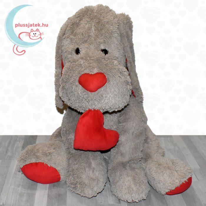 Hatalmas, 80 cm-es szerelmes plüss kutya