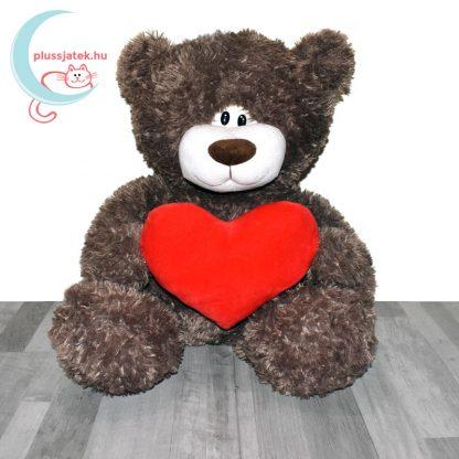 Love & Cuddles hatalmas, 65 cm-es szerelmes plüss maci szemből