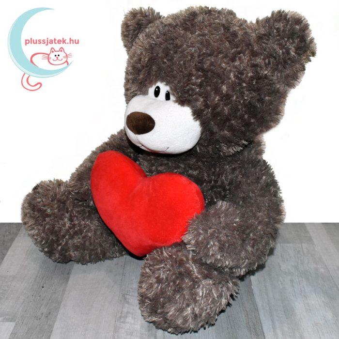 Love & Cuddles hatalmas, 65 cm-es szerelmes plüss maci balról