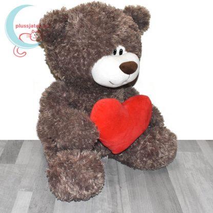 Love & Cuddles hatalmas, 65 cm-es szerelmes plüss maci jobbról