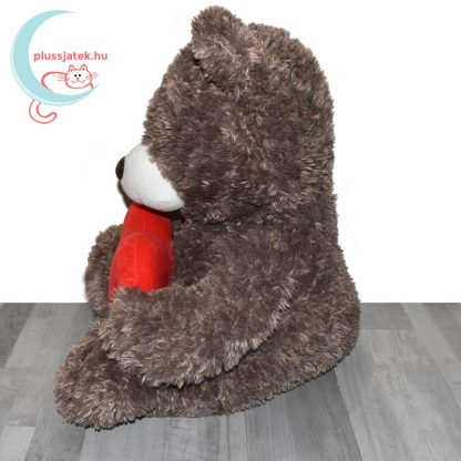 Love & Cuddles hatalmas, 65 cm-es szerelmes plüss maci oldalról