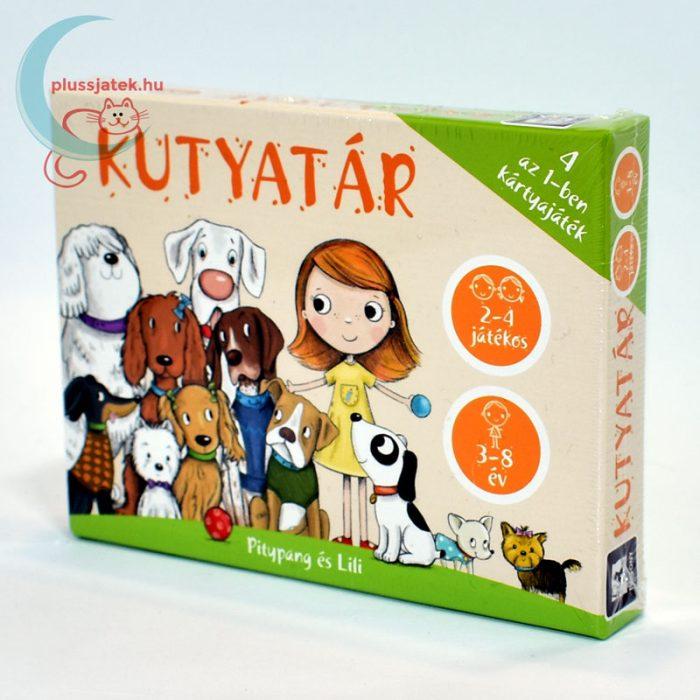 Kutyatár - 4 az 1-ben kutyás kártya játék jobbról