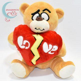 Összetört szívű szerelmes plüss maci