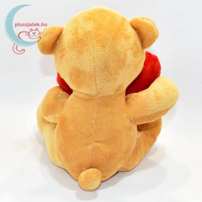 Összetört szívű szerelmes plüss maci hátulról