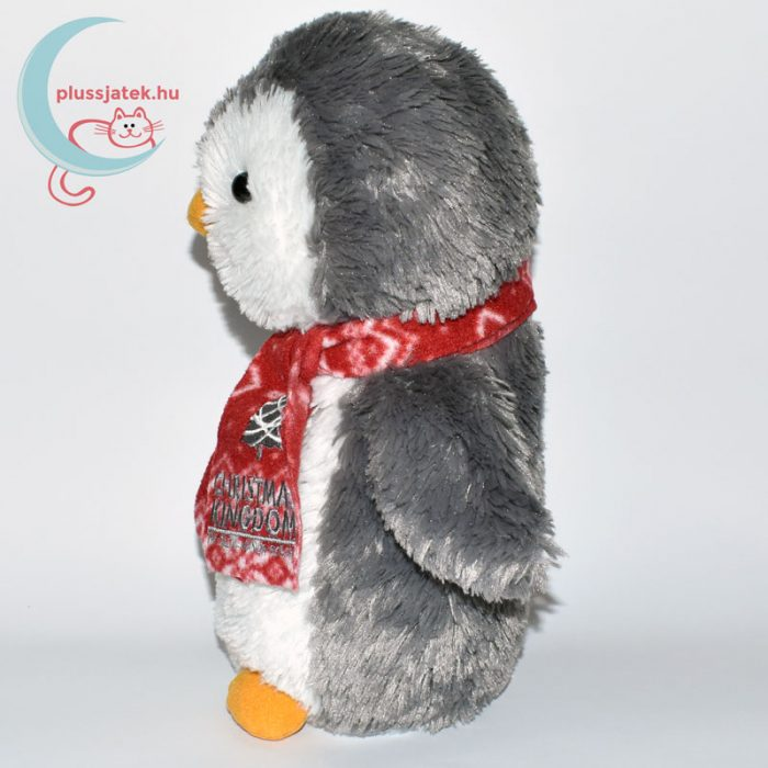 Christmas Kingdom plüss pingvin oldalról