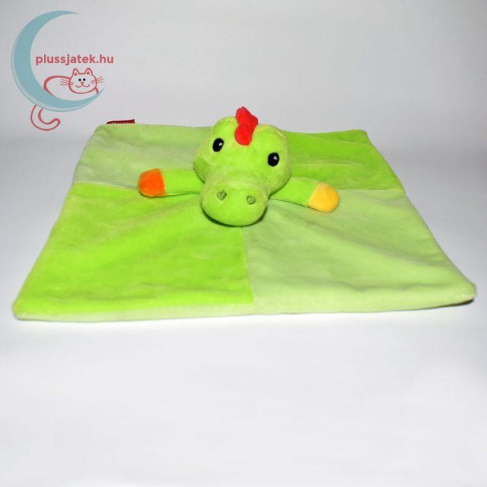 Fisher-Price zöld krokodil szundikendő