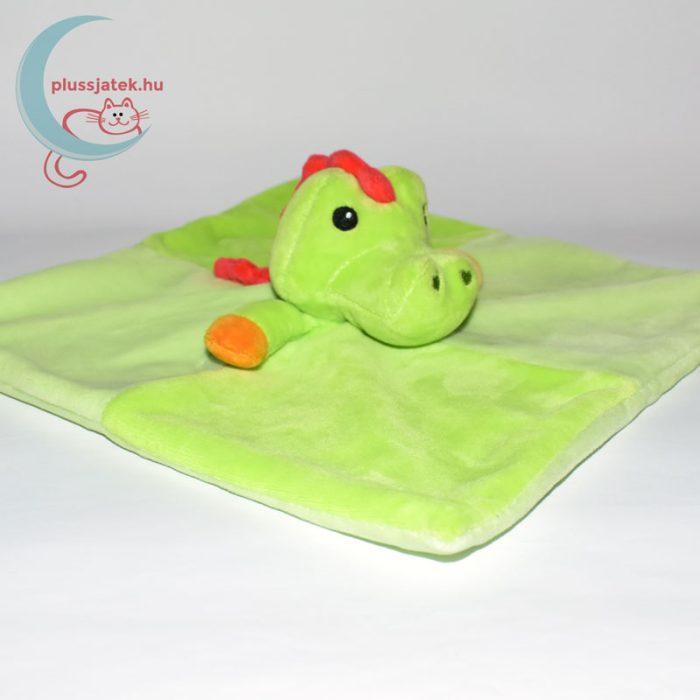 Fisher-Price zöld krokodil szundikendő jobbról