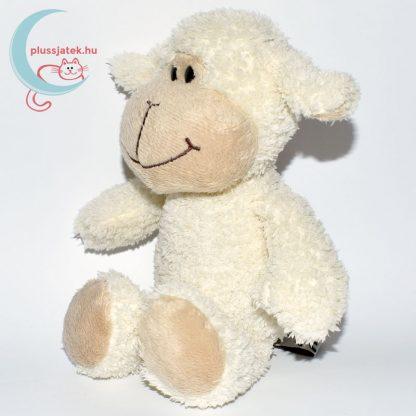 Kinder plüss bárány - fehér, bolyhos szőrű balról