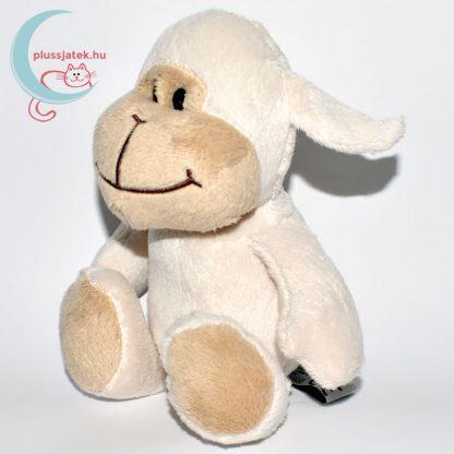 Kinder plüss bárány - fehér, sima szőrű balról