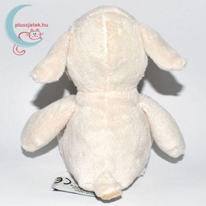 Kinder plüss bárány - fehér, sima szőrű hátulról