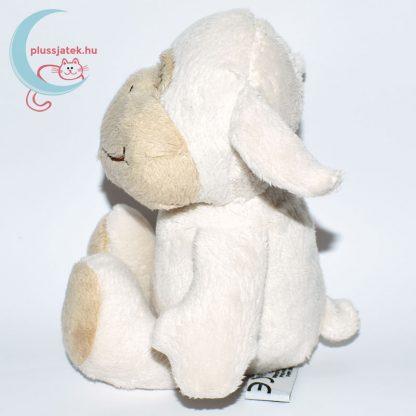 Kinder plüss bárány - fehér, sima szőrű oldalról