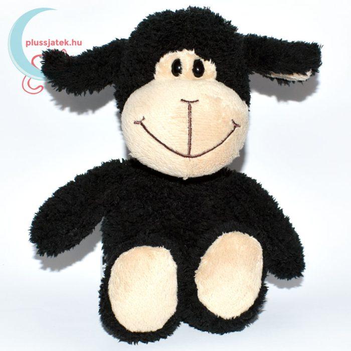 Kinder plüss bárány - fekete, bolyhos szőrű
