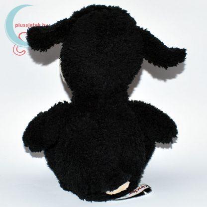 Kinder plüss bárány - fekete, bolyhos szőrű hátulról
