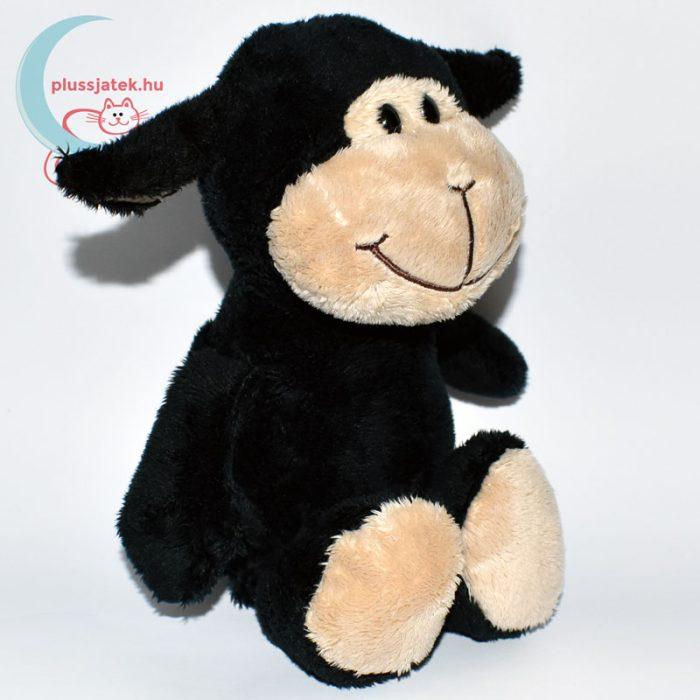 Kinder plüss bárány - fekete, sima szőrű jobbról