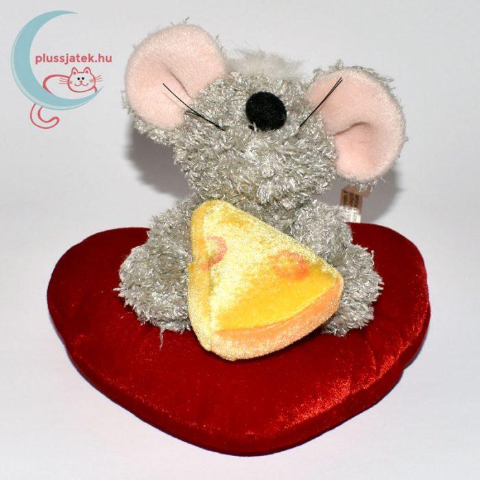 Szerelmes plüss egér sajttal