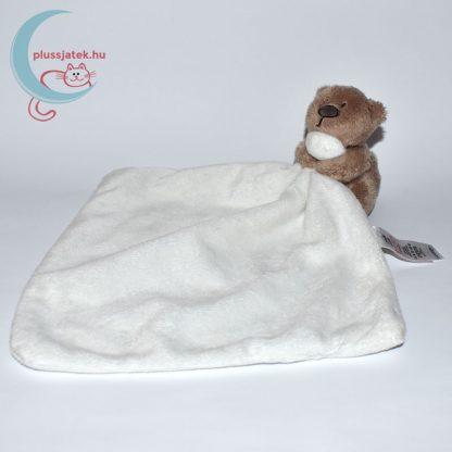 One Size George maci plüss szundikendő - fehér, oldalról