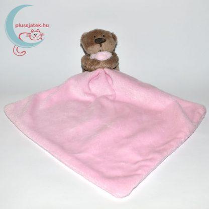 One Size George maci plüss szundikendő - rózsaszín