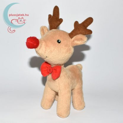 Christmas nyakkendős Rudi plüss szarvas balról