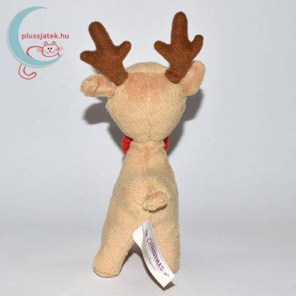 Christmas nyakkendős Rudi plüss szarvas hátulról